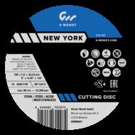 Vágókorongok New York (Ipari) Inox