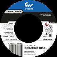 Flexibilis tisztítókorong New York (Power) Inox