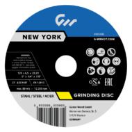 Csiszolókorongok New York (Power) Inox