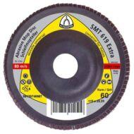 Lamellás csiszolótányérok SMT619 kúpos (12°), 115 mm, P60