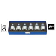 6-szög gépi rátűzőkulcs klt. 14-23mm, 6db