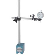 Mágneses oszlopos mérőóra állvány 500/180mm, finom állítóval