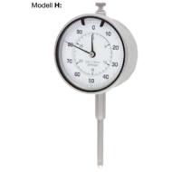 Mérőóra, pontosság: 0,01mm; ¤58mm Modell H