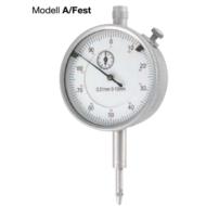 Mérőóra, pontosság: 0,01mm; 0-10mm; ¤58mm Modell A-rögzítőcsavarral