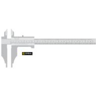 Műhelytolómérő mérőcsúcsokkal  DIN862