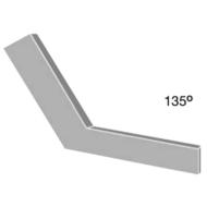 Gérszög 135°