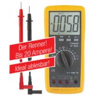 Multiméter 1000 V DC, 700 V AC, hőmérő funkcióval