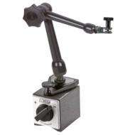 NOGA mechanikus mágneses méróra állvány, finom beállítással a mágnestalpon