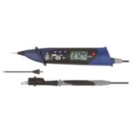 Univerzális V-A-R -mérő 0-600 V AC/DC digitális