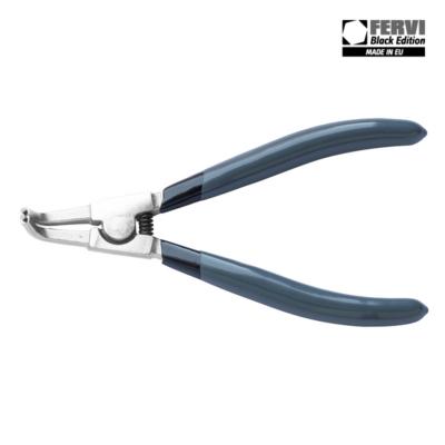 Seger gyűrű fogók, 90°-ban hajlított, külső gyűrűkhöz