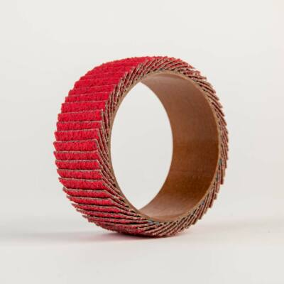 Lamellás csiszológyűrű, kerámia, hengeres