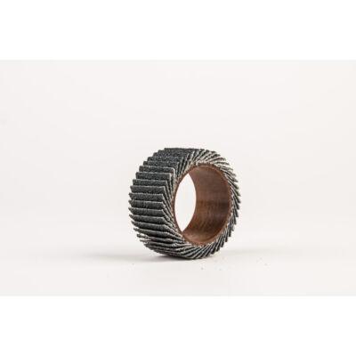 Lamellás csiszológyűrű, zirkonkorund, hengeres