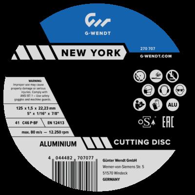 Vágókorongok New York (Ipari) Acél