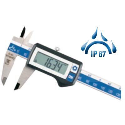 Digitális tolómérő, mélységmérővel, IP67-védett, 150mm Helios-Preisser