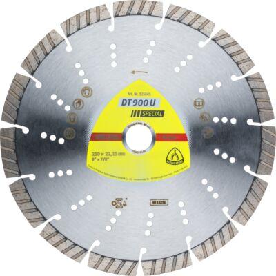 Gyémánt vágókorong DT900U SPECIAL