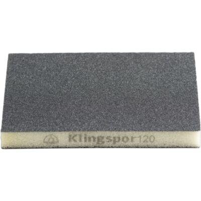 Csiszolószivacs, lakkra, fára, festékre, 123×96×12,5 mm P 120 SW501