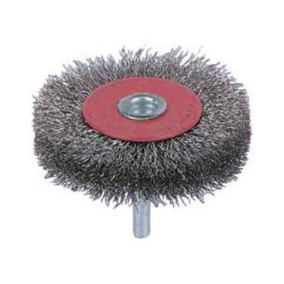 Körkefék 6mm-es csappal, 0,2mm acélhuzal drótvastagság