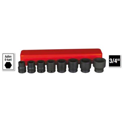 6 lapú gépi dugókulcs klt. 19-41mm, 8db