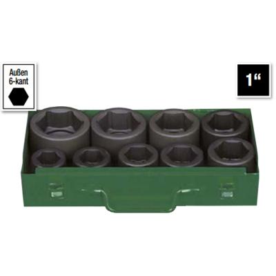 6 lapú gépi dugókulcs klt. 24-50mm, 9db