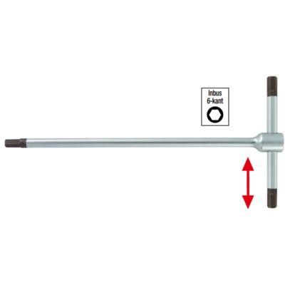 Három végű metrikus T-szárú hatszögkulcsok