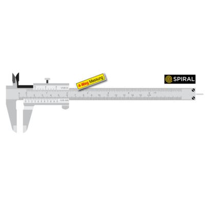 Precíziós tolómérő kerek mélységmérővel