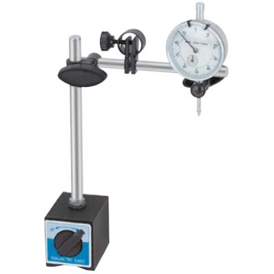 Mágneses oszlopos mérőóra állvány 240/165mm, finom állítóval