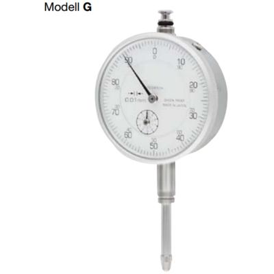 Mérőóra, pontosság: 0,01mm; 0-20mm; ¤58mm Modell G