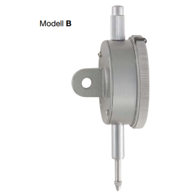 Mérőóra, pontosság: 0,01mm; 0-10mm; ¤58mm Modell B