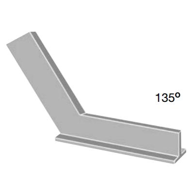 Talpas gérszög 135°