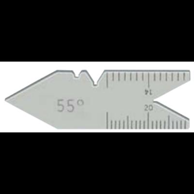 Menetsablon whitworth 55°