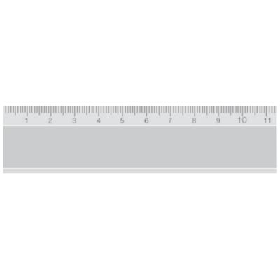 Alumínium vonalzó DIN866/2