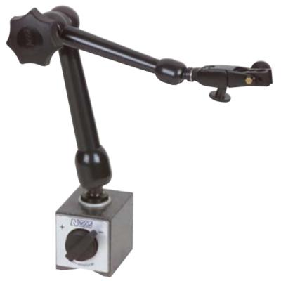 NOGA mechanikus mágneses méróra állvány, finom beállítással a rudazaton