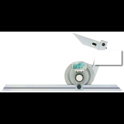 Univerzális szögmérő, leolvasás 5 szögperc