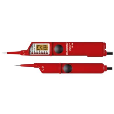Kétpólosú fáziskereső digitális 1-1000 V AC - 1 1200V DC, IP65