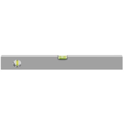 Alumínium lehúzóléc 2 libellával